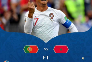Portugalia - Maroc, @fifaworldcup / facebook