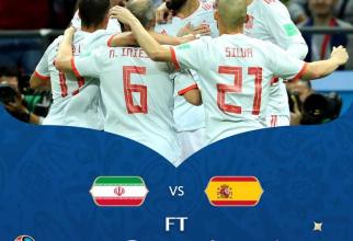 Iran-Spania, @fifaworldcup / facebook