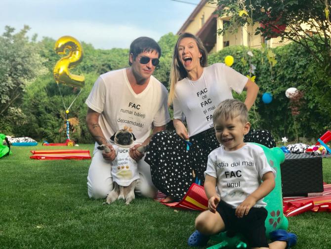 Radu Vâlcan și Adela Popescu, părinți de băiat pentru a doua oară