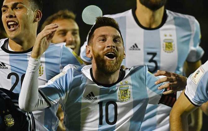 Argentina CM 2018. foto: facebook / @fifaworldcup