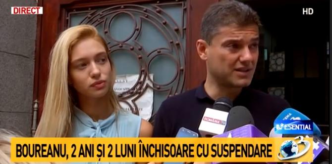 Boureanu, primele declarații după ce a fost condamnat