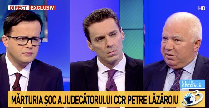 Petre Lăzăroiu, Antena 3