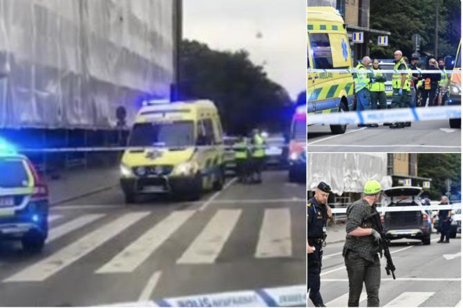 Împușcături Malmo, Suedia