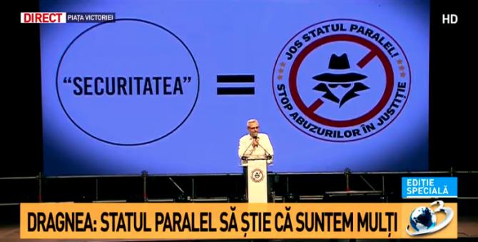 Miting PSD. Liviu Dragnea: Sunt niște unelte jalnice. O cârdășie periculoasă