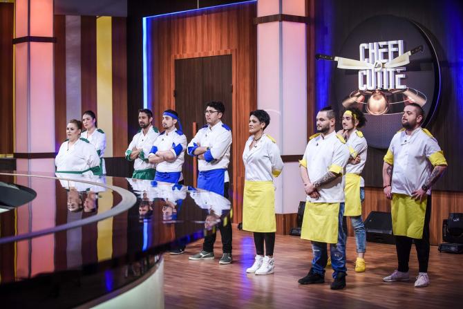 Chefi la cuțite, semifinală