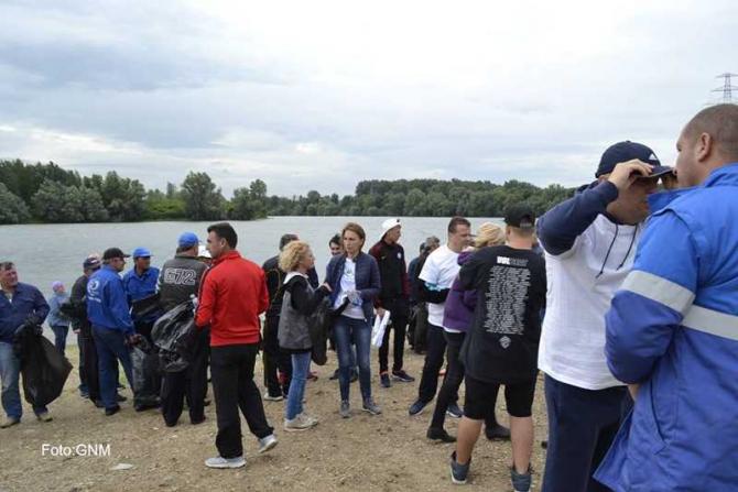 Ziua Dunării. Garda de Mediu, campanie de ecologizare