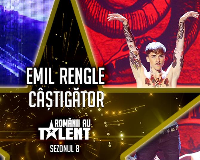 """Emil Rengle, câștigător Românii au talent 2018. Reacții dure: """"L-ați distrus!"""""""