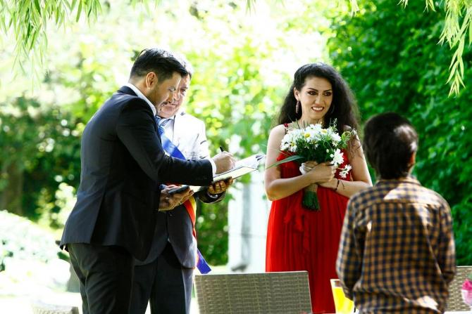 Doinița Oancea își oficializează relația