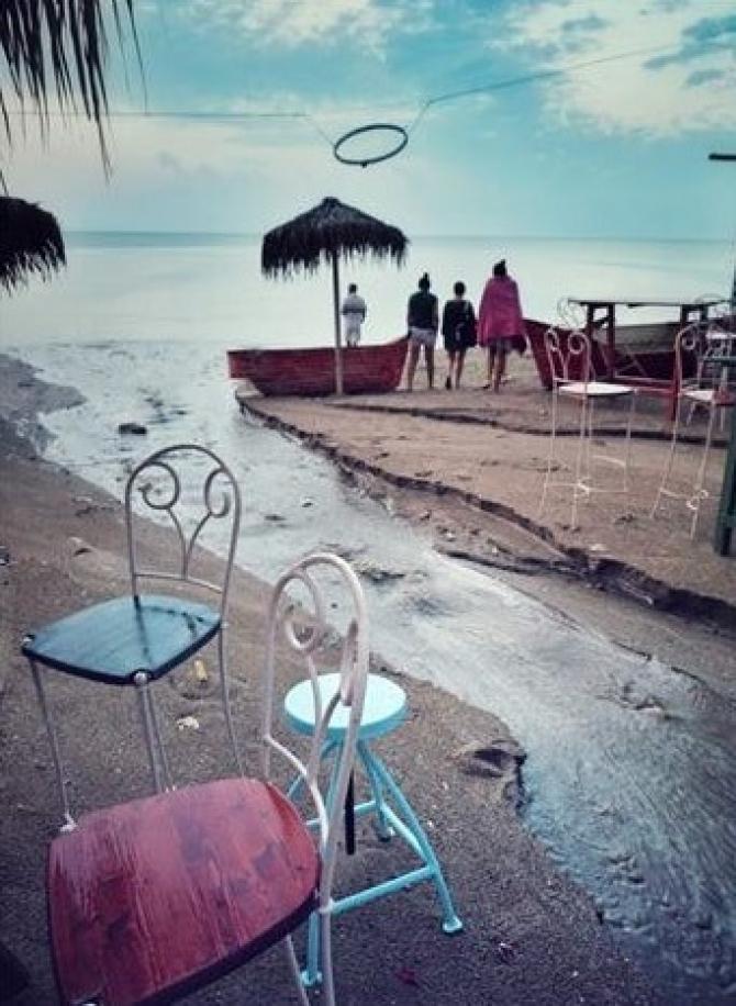 Furtună pe litoral. Sursă foto: Vlad Eftenie