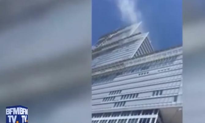 Palatul Justiției din Paris, incendiu