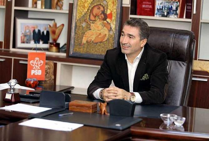 Ionel Arsene îşi reia funcţia de preşedinte al filialei PSD Piatra-Neamţ