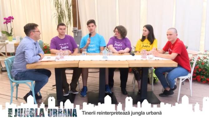 """Membrii CLT Piatra Neamț, la """"Jungla Urbană"""". Ediție specială"""