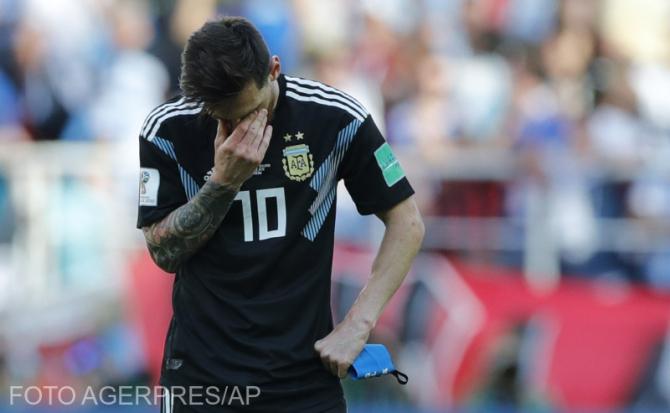 Lionel Messi a ratat un nou penalty în tricoul naționalei