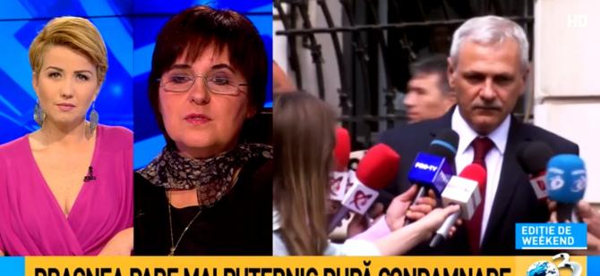 Maria Vasii: Tocmai adversarii lui Dragnea pot să-i dea argumentul pentru anularea condamnării