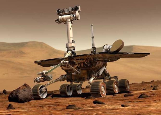Apa pe Marte