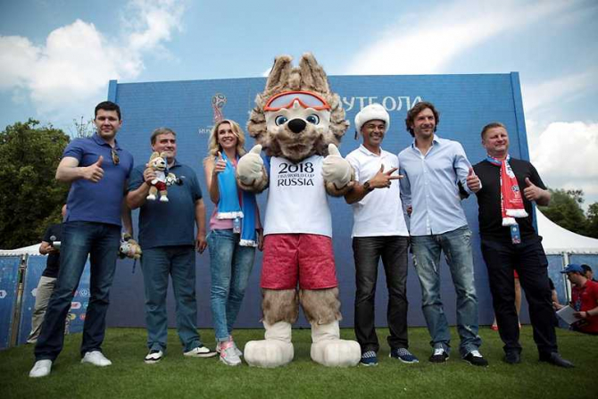 Zabivaka, mascota CM 2018. foto: FIFA World Cup / facebook @fifaworldcup