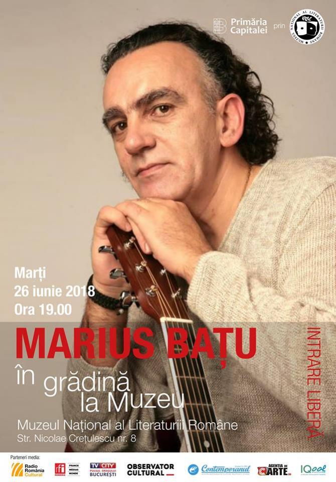 Concert Marius Bațu