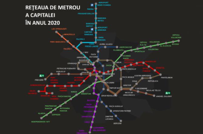 Harta Metrou 2020