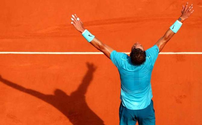 RAfael Nadal, foto: ATP World Tour / Twitter @ATPWorldTour