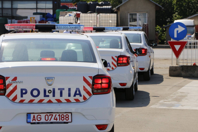 Politia, masini noi