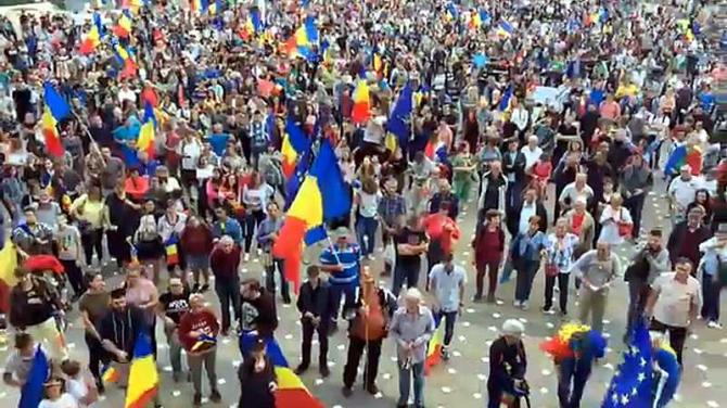 Mii de manifestanţi, în Bucureşti şi în ţară - sumar proteste 24 iunie