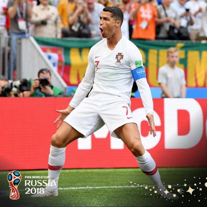 Cristian Ronaldo / foto facebook @fifaworldcup