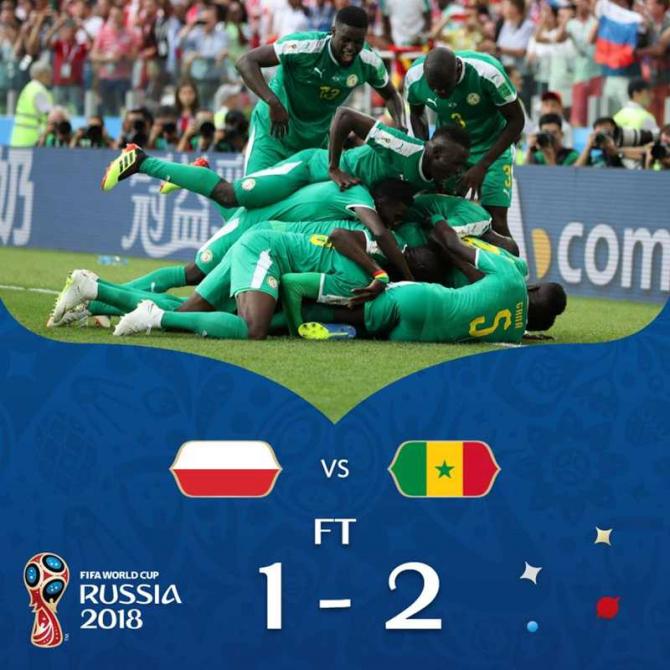 Senegal-Plonia, @fifaworldcup / facebook