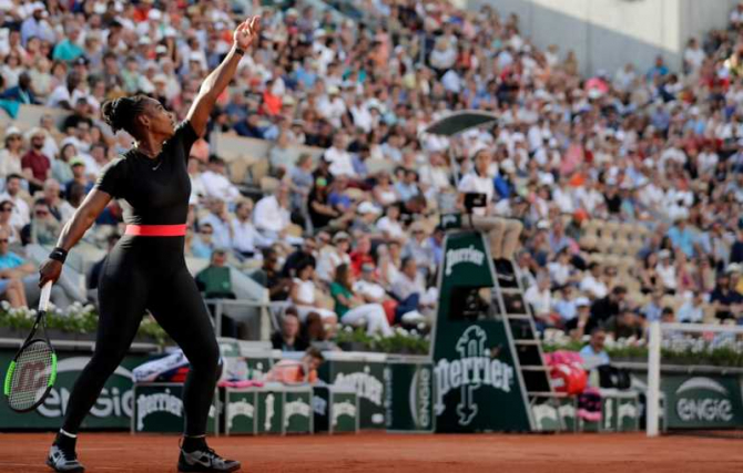 Serena Williams / foto Twitter WTA @WTA