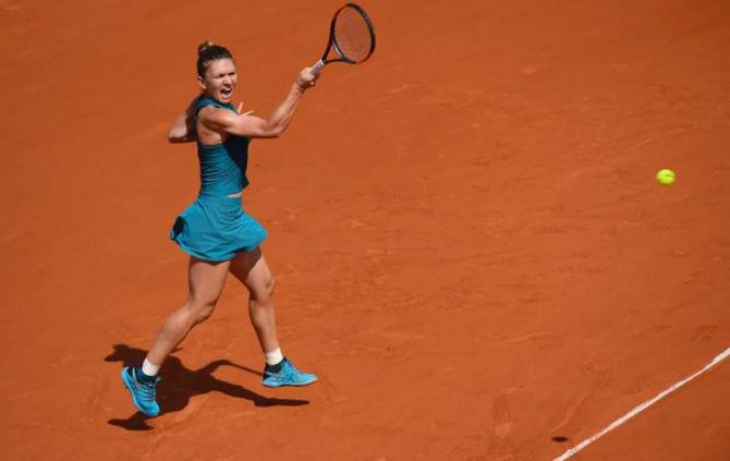 Simona Halep / Roland-Garros @rolandgarros Twitter