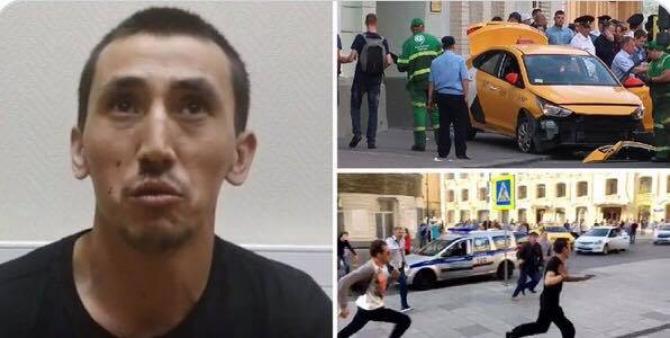 Declarația șoferului de taxi care a intrat în oameni pe o stradă din Moscova