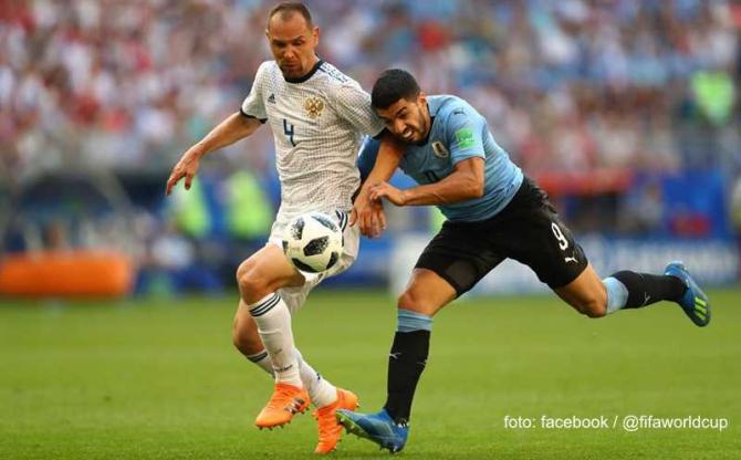 Uruguay-Portugalia. CM 2018 foto: facebook / @fifaworldcup