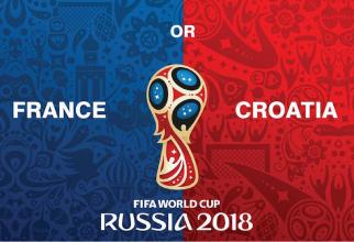 Franţa - Croaţia finală Cupa Mondială, avanpremiera