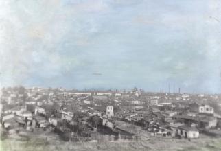 Ion Grigorescu, Bucurestiul vazut de pe Dealul Morii