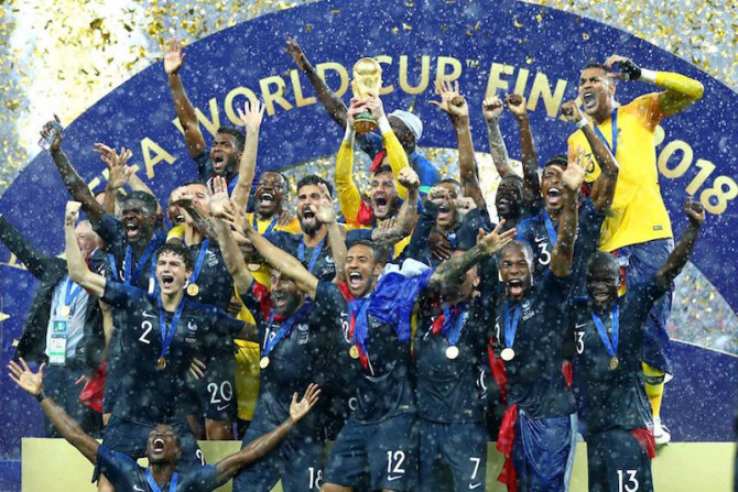Franta, campioana mondiala. foto: @fifaworldcup