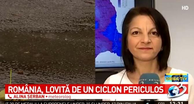 Ciclon România. Meteorolog: Deja suntem sub influența unui ciclon