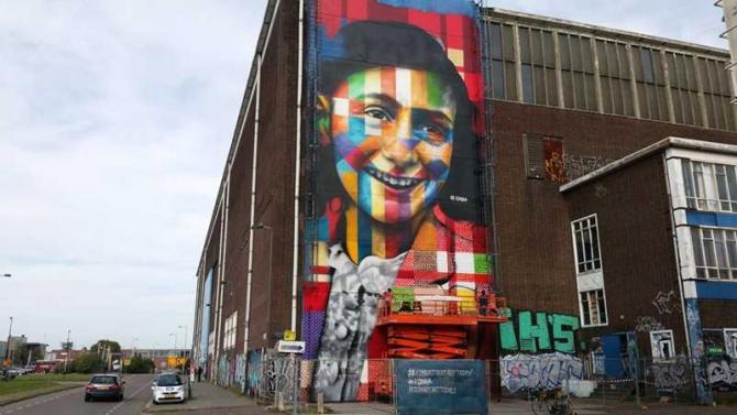 Anne Frank. foto: facebook / @annefrankauthor