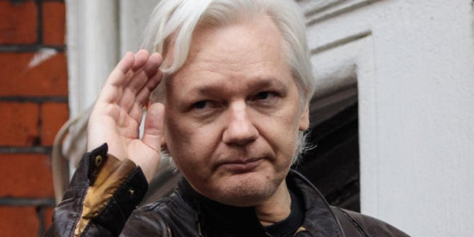 Julian Assange. foto: aronpaulinstitute.org
