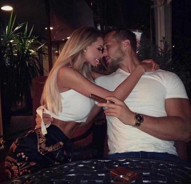 Bianca Drăgușanu și Tristan Tate