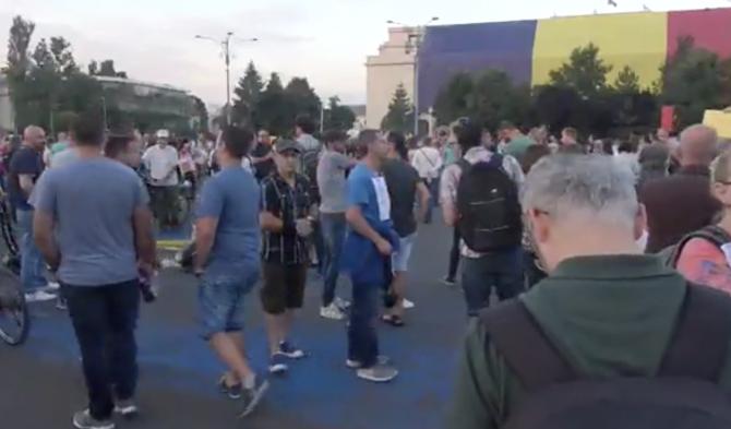 Proteste Piața Victoriei