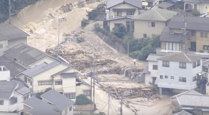 Inundații Japonia