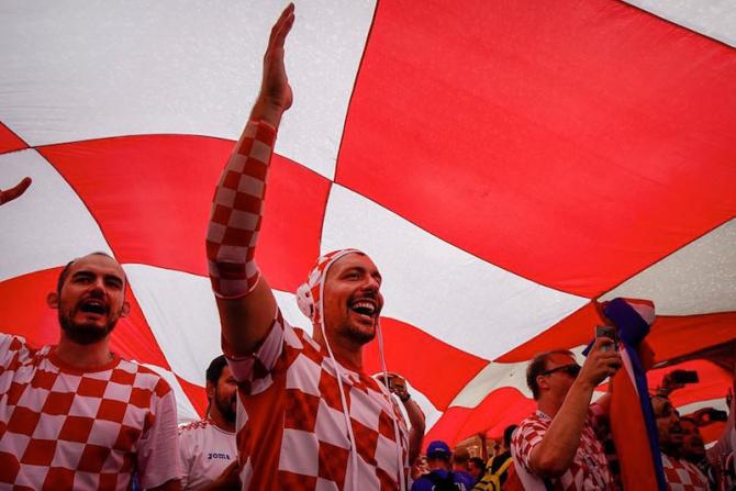 Fani Croația . foto: facebook / @fifaworldcup