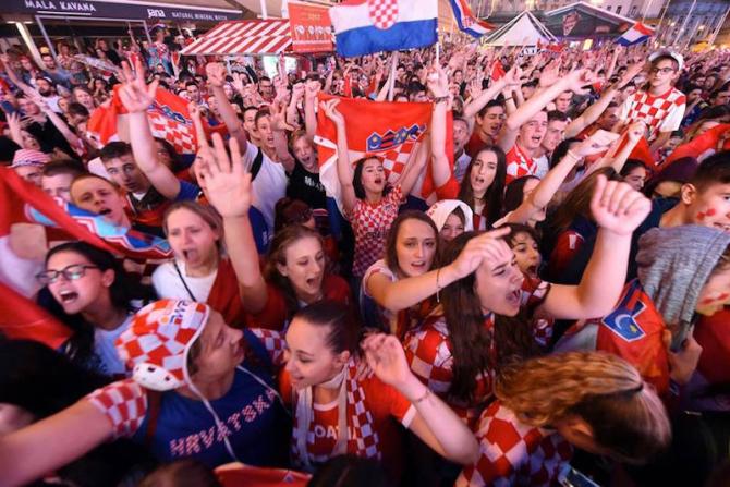 Finală Cupa Mondială: Croaţia, finalista cu cel mai slab coeficient FIFA. foto: @fifaworldcup