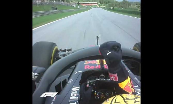 Max Verstappen. foto: captură video @Formula1 facebook