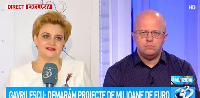 Graţiela Gavrilescu, schimb de replici cu Adrian Ursu: Sunteți de acord cu mine? Evident că nu