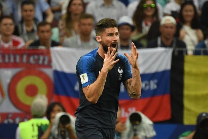 Giroud, singurul atacant care nu a tras niciun șut la poartă, CM 2018