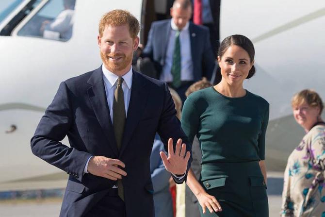 Prinţul Harry al Marii Britanii şi Meghan Markle