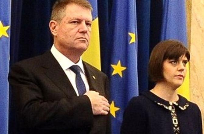 Klaus Iohannis și Laura Codruța Kovesi