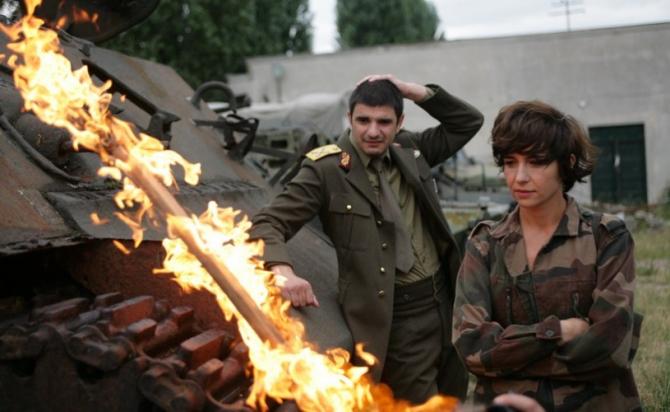 Ioana Iacob și Alex Bogdan în filmul lui Radu Jude