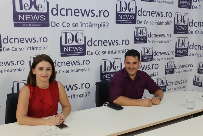 Oana Anghelescu și Tudor Cârstoiu, la DC News