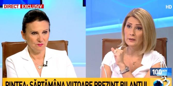 Sorina Pintea: Trebuie să spunem adevărul.  Alessandra Stoicescu: Pentru asta vă aplaud